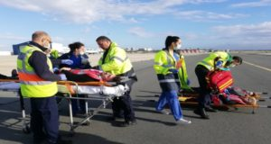 """Emergency exercise called """"Plane Crash"""" took place at Larnaca Airport (pics)"""