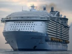 Search ongoing for UK cruise ship entertainer who went overboard