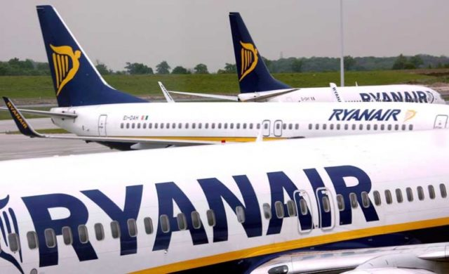 Ryanair expects no disruption during Tuesday cabin crew strike