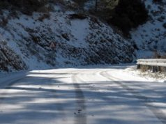 Continuing bad weather closes roads in Paphos, mountains