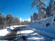 Roads to Troodos closed as cold weather grips Cyprus