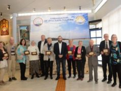 Eleven tourists honoured for repeatedly visiting Ayia Napa