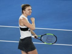 Top seed Halep digs deep to advance, Serena cruises