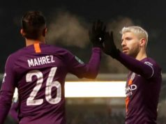 Aguero on target as City cruise into League Cup final