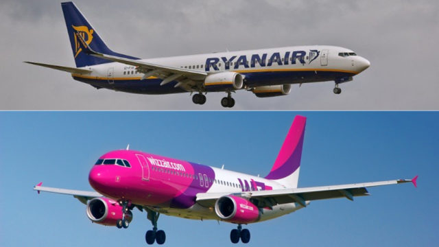 Ryanair and Wizz Air fine €4 million over luggage policies