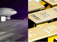 735 million Euros in gold bars prepared for loading onto Russian jet at Venezuelan airport