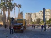 FoE (Cyprus) collect 2,800 kg in Limassol's post-Carnival parade clean-up (photos)