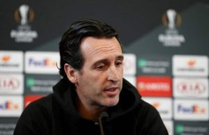 Emery not looking to make weather an excuse in Europa League