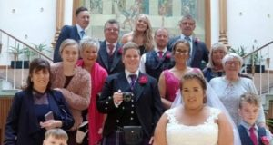 Women turned her 30th birthday into a wedding