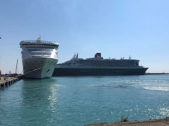 DP World Limassol welcomes first cruise ships for 2019