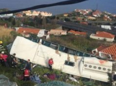 At least 28 killed in tourist bus crash in Portugal