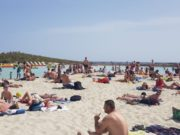 The glorious Nissi beach today
