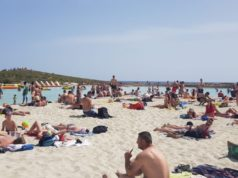 The glorious Nissi beach in Cyprus