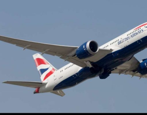 British Airways B787-800 Dreamliner lands in Cyprus for the first time