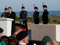 Leaders and veterans recall sacrifice of D-Day on Normandy's beaches