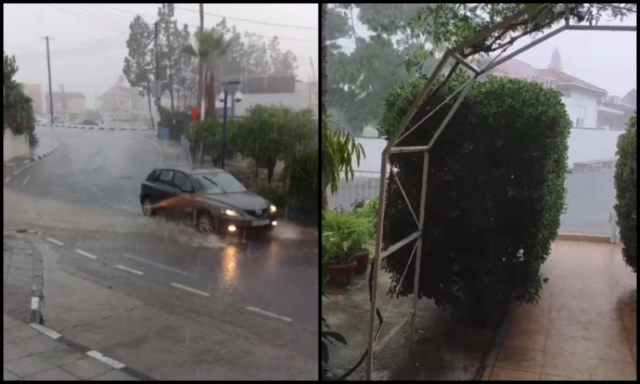 Weather predictions confirmed! Heavy rainfall happening now in Cyprus! (VIDEOS)
