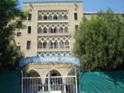 Aging grand hotel highlights the ethnic division in Cyprus