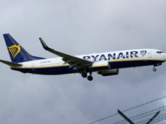 Ryanair Plane Hit By Lightning over Paphos, No Injuries Reported
