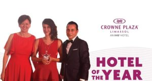 Crowne Plaza Limassol Crowned Hotel of the Year!