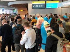 More than 300 flights were cancelled at Europe's third busiest airport! (pics & video)