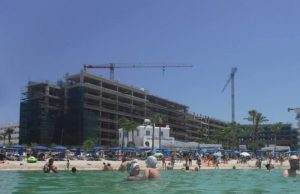 Tourists claim building drillings near hotel RUINED luxury £3,300 break in Ayia Napa (pics)