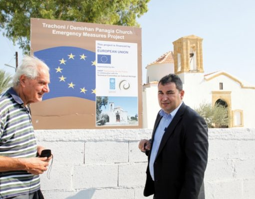 30 new cultural heritage projects in the pipeline, says Hadjidemetriou