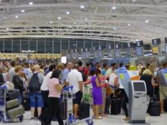 60,000 airport passengers in just one day