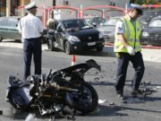 Tourists in serious condition after road accident