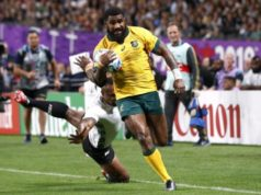 Australia weather Fijian storm to win World Cup opener