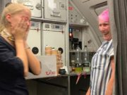 Thomas Cook flight out of Cyprus gets emotional