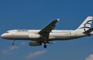 Aegean Airlines Increases Number of Flights from Cyprus