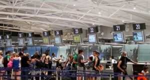 Arrivals of travelers increase by 1.6%. in September