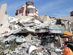Search for Albanian quake survivors at hotel to resume at daybreak
