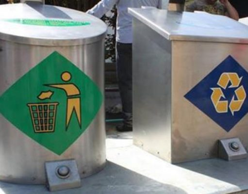 Submerged recycling bins operational in Larnaca by early February