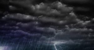 Unsettled weather with rain, snow, possible thunderstorms