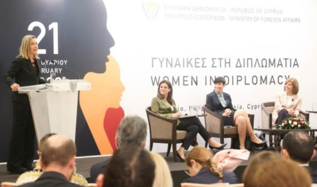 "Local and foreign high-profile women attend Cyprus' ""Women in Diplomacy"" event"