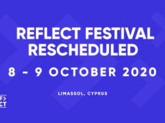 Reflect festival postponed to October