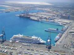 Cruise ships docks in Limassol for refueling