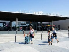 Four arrivals and four departures Sunday from Paphos Airport, Cyprus