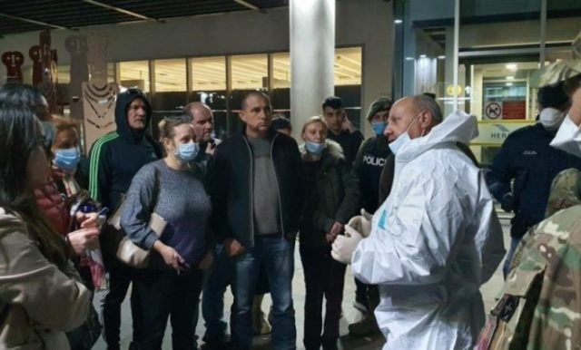 357 foreigners evacuated from Pafos Airport, Cyprus