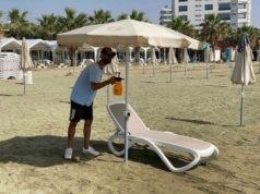 Coronavirus: Beaches reopen, though rain could dampen enthusiasm