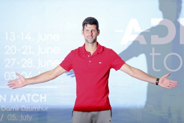 Djokovic to host Balkan event after finally returning home from Spain