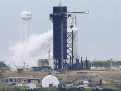Weather delays SpaceX's first astronaut launch from Florida