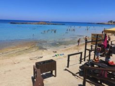 Erosion at Fig Tree Bay before start of tourist season (photos)