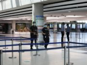 Approximately 7 thousand people fly from and to Larnaca Airport since its re-operation
