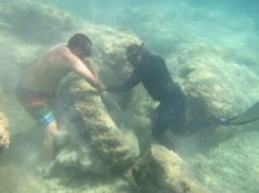 Volunteers collect 72 kilos of rubbish from beach, seabed (photos)