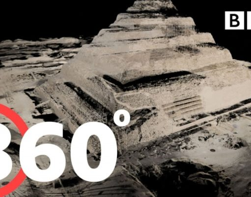 360° Travel inside the Great Pyramid of Giza