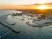 Ayia Napa marina construction works back at full speed after lockdown