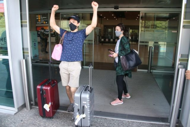 Glad to be here: UK tourists land in Cyprus