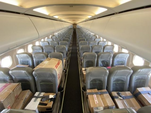 Company in Cyprus charters flight to transport humanitarian aid to Lebanon